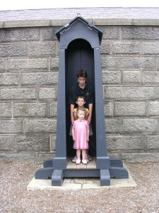 Picture yourself in the Guard Box at the Halifax Citadel